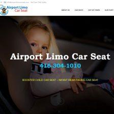 Airport Limousine Car Seat