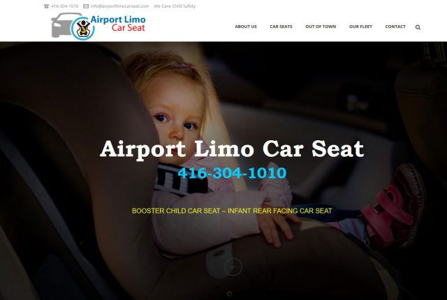 Airport Limousine Car Seat